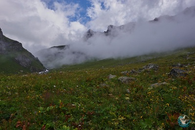 Landscape of Vanoise National Park
